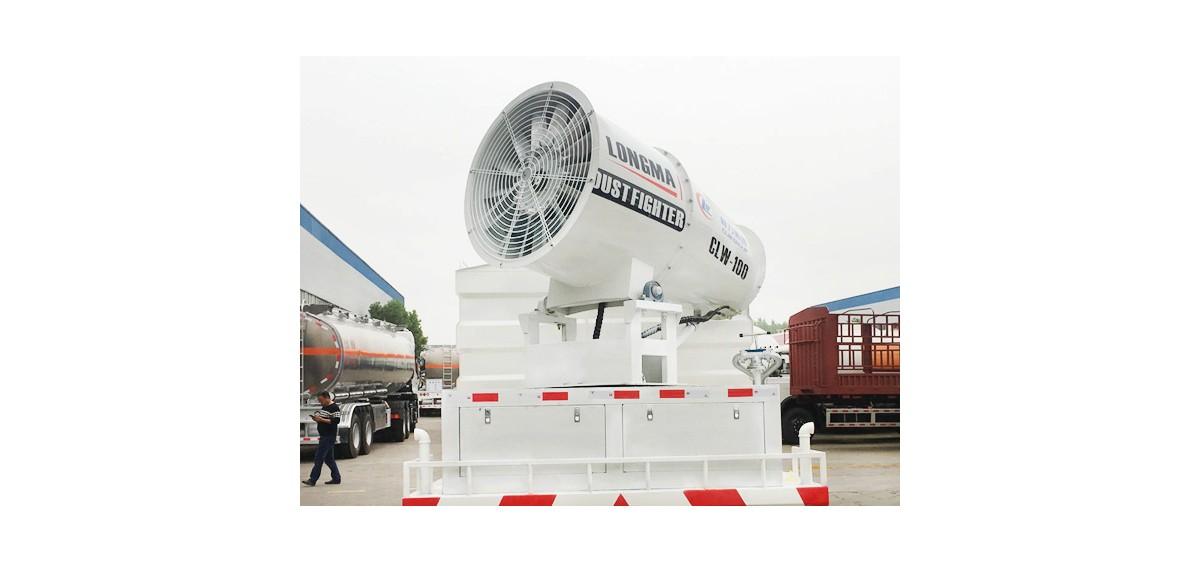 60-80米环保降尘雾炮 LM-100型喷雾机
