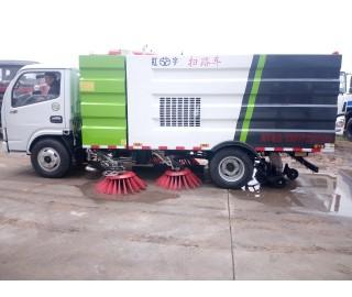 东风扫地车 5吨扫地车 小型扫地车客户成功案例