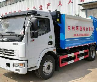 玉田县政府采购摆臂压缩垃圾车