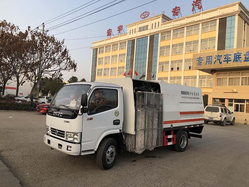 (黄牌)东风多利卡4m³型护栏清洗车
