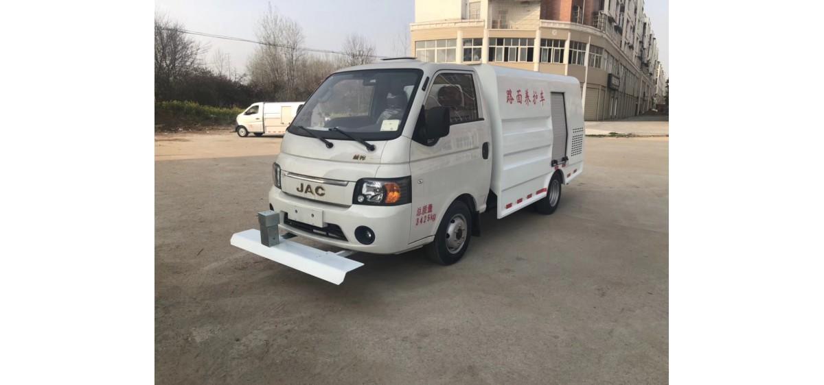 (蓝牌汽油)江淮康铃2m³小型路面清洗车