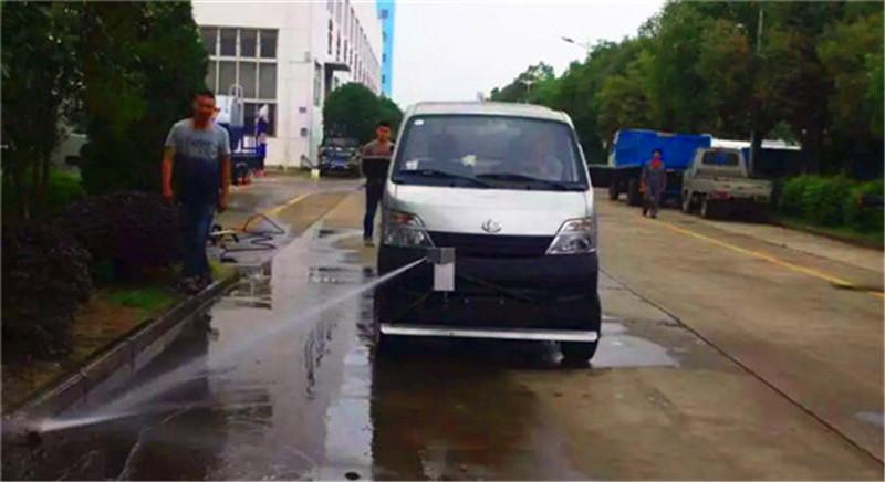 路面清洗车定点喷射