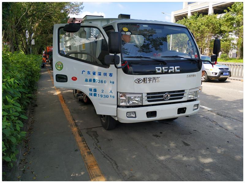 深圳吸尘车图片