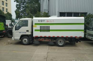 福田小型扫路车视频