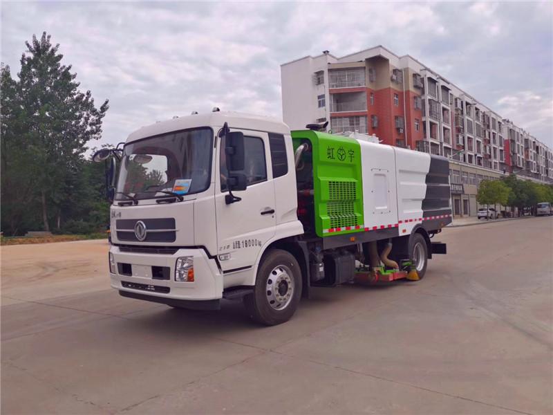 国六东风天锦吸尘车(18吨)