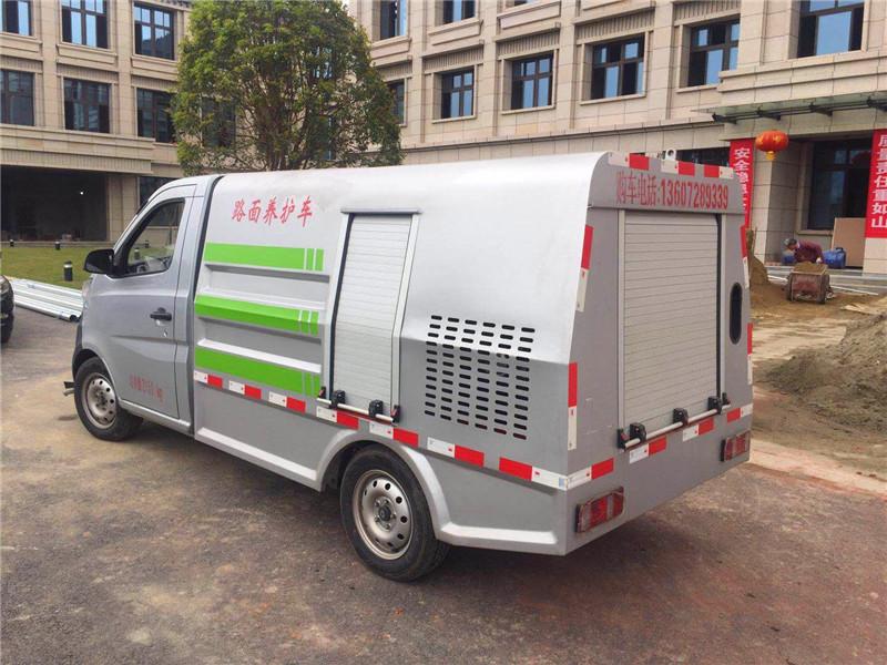 四川长安小型清洗车成功案例