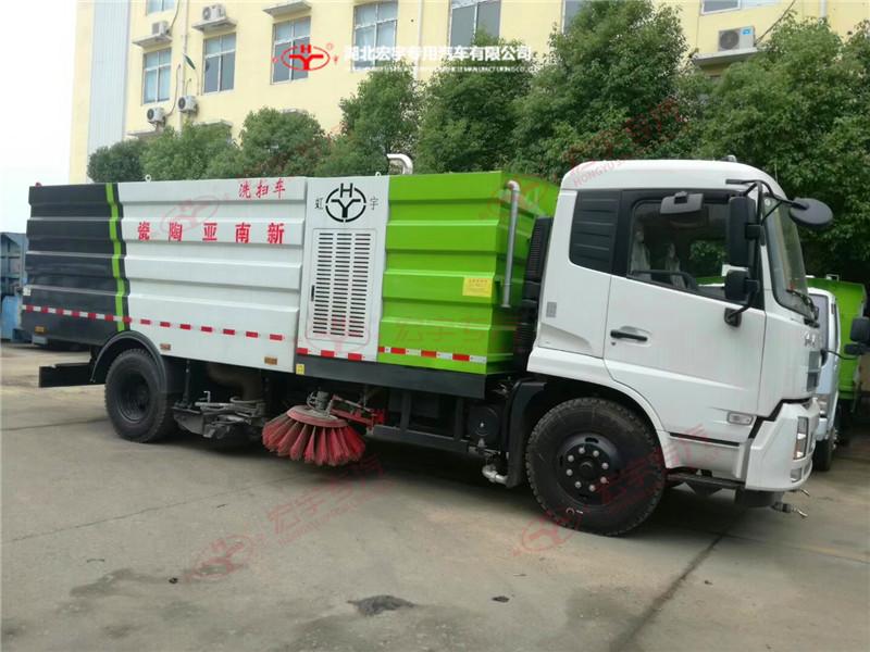 东风天锦18吨洗扫车
