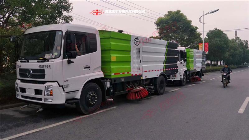 东风天锦18吨大型洗扫车