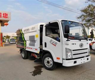 2020款解放扫路车 小型国六排放扫路车