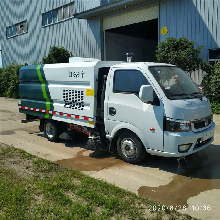 东风小型蓝牌扫路车(汽油版)