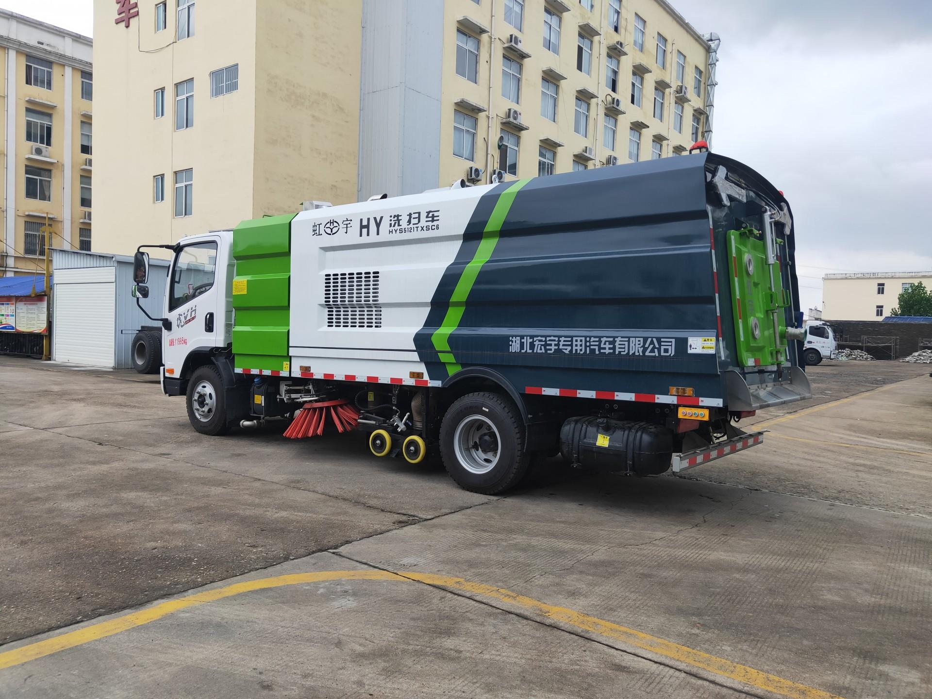 一汽解放8吨洗扫车