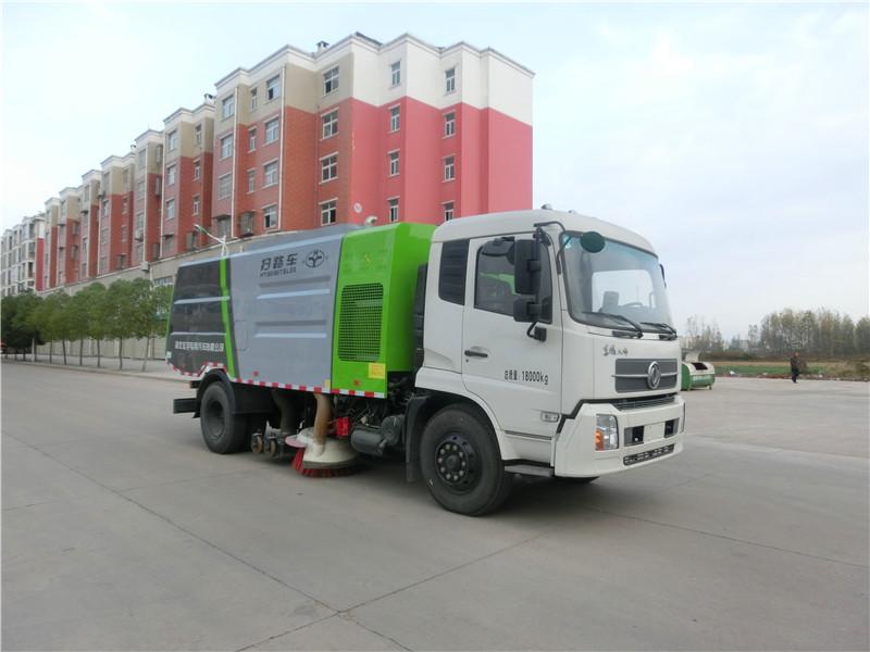8吨干扫车