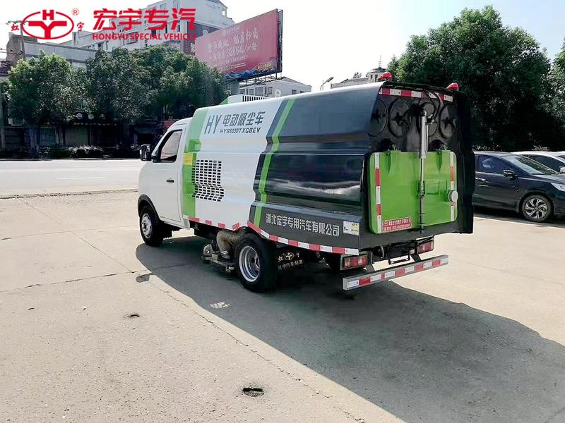 纯电动小型吸尘车