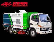 江淮10方/10吨洗扫车
